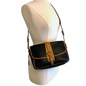 DOONEY & BOURKE Vintage AWL Equestrian Flap Bag